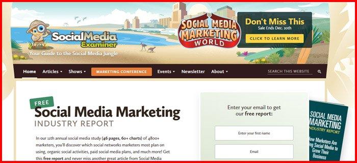 Socialmediaexaminer screenshot
