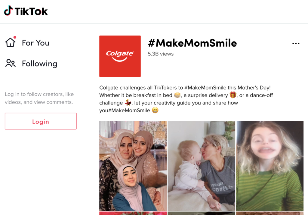 Colgate #MakeMomSmile